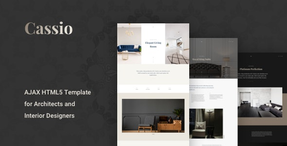 Cassio – Architect Portfolio AJAX HTML5 Template by