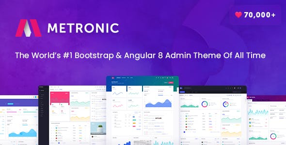 Angularjs Templates from ThemeForest