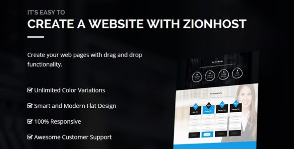 ZionHost - Web Hosting, WHMCS and Corporate Business WordPress Theme - Hosting Technology