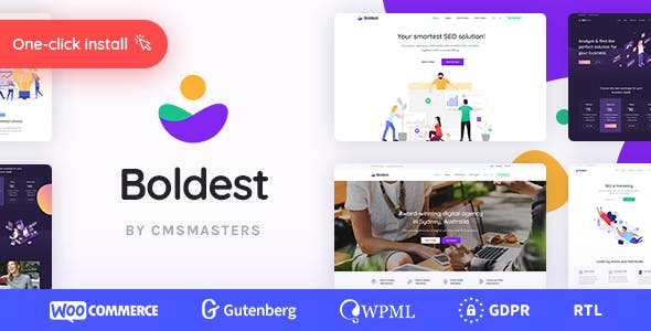 Boldest - Consulting and Marketing Agency Theme