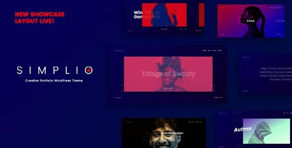 Simplio - Creative Portfolio WordPress Theme - Portfolio Creative