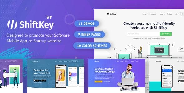 ShiftKey - Landing Pages WordPress Theme - Marketing Corporate
