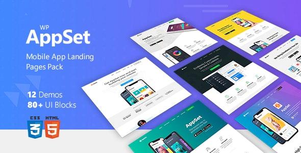 Appset - App landing WordPress Theme - Software Technology