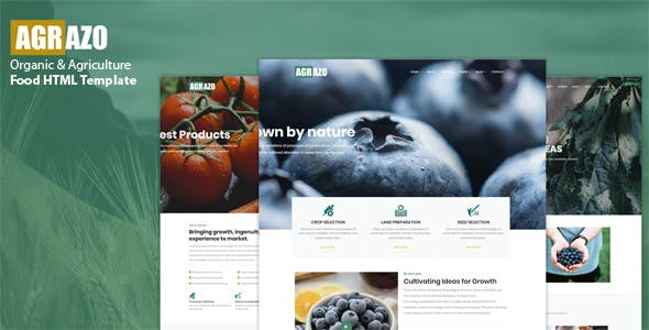 Agroland - Agriculture & Organic Food HTML Template nulled theme download