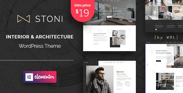 Stoni - Architecture Agency WordPress Theme nulled theme download
