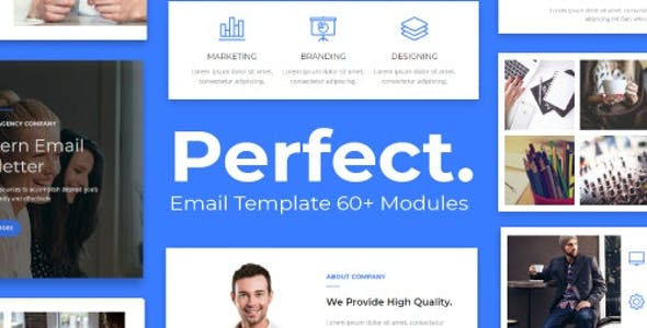 Perfect - Agency Responsive Email Template 30+ Modules - StampReady + Mailster & Mailchimp Editor nulled theme download