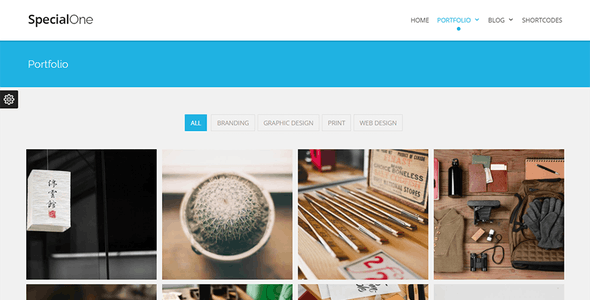 SpecialOne - Multipurpose One/Multi Pages Ready Drupal 8.9 Theme
