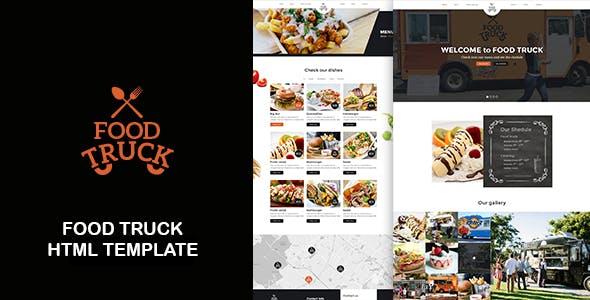 Food Truck - Street Trucks And Restaurant Responsive HTML Template
