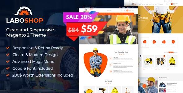 SM Laboshop - Responsive Magento 2 Theme - Shopping Magento