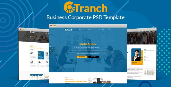 Tranch - Business Multipurpose PSD - Business Corporate