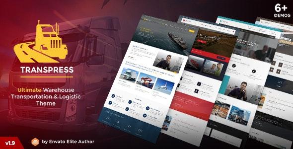 TransPress - Ultimate Transport Logistics Warehouse WP Theme - Business Corporate