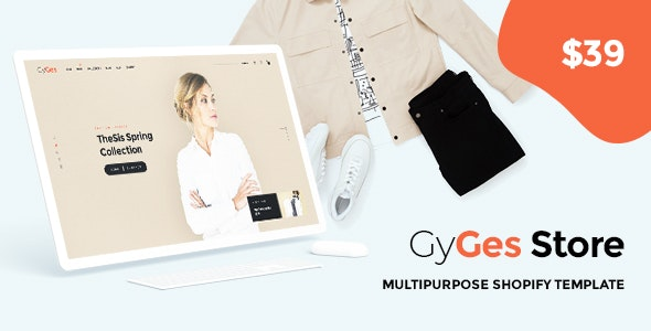 GyGes - Multipurpose Shopify Sections Theme - Shopify eCommerce