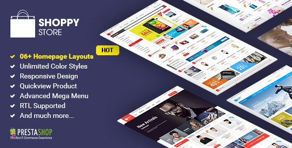 Shoppy Store - Responsive PrestaShop Theme - Shopping PrestaShop