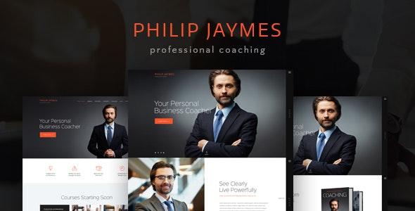 PJ | Life & Business Coaching WordPress Theme - Business Corporate