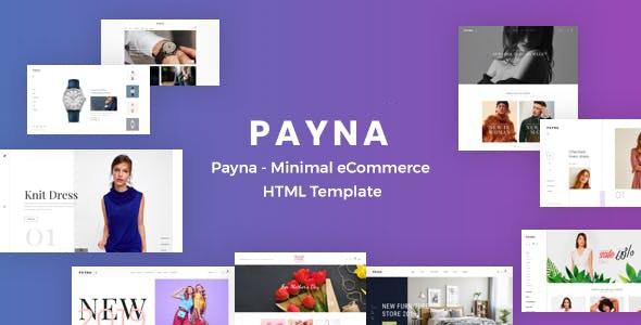 Payna - Minimal eCommerce HTML Template - Fashion Retail