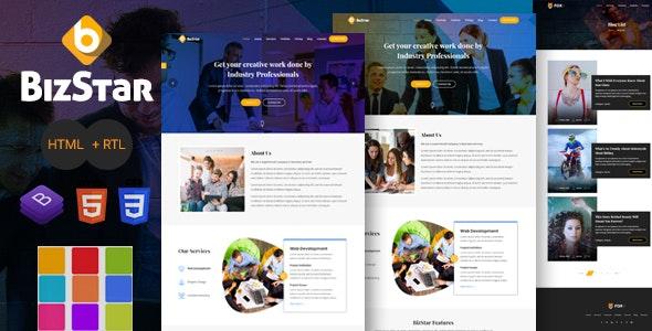BizStar - Responsive Multi-Purpose HTML Template - Site Templates