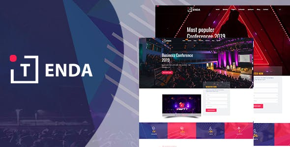 Tenda - Event And Conference HTML5 Template nulled theme download