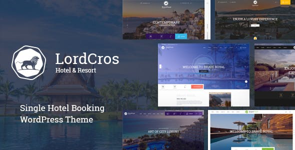 LordCros - Hotel Booking WordPress Theme
