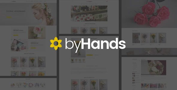 ByHands – Flower Store React Template nulled theme download