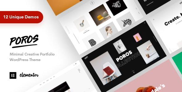 Poros - Business Portfolio WordPress Theme nulled theme download