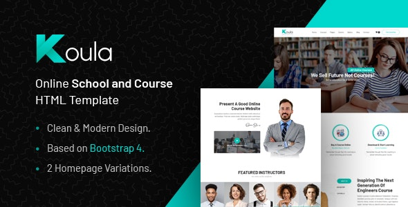 Koula - Education HTML Template for Collages and Schools by webinaneHTML