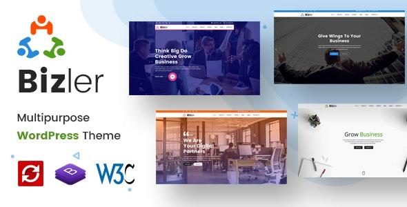 Bizler | Business Agency WordPress Theme - Corporate WordPress