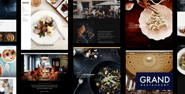 Grand Restaurant WordPress