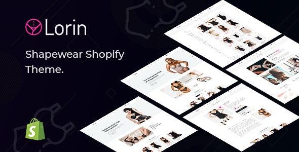 Lorin – Shapewear Shopify Theme - Fashion Shopify