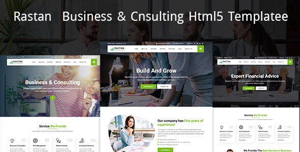 Rastan -  Business & Cnsulting HTML5 Template - Business Corporate