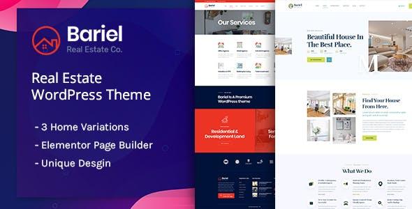 Bariel - Real Estate WordPress Theme