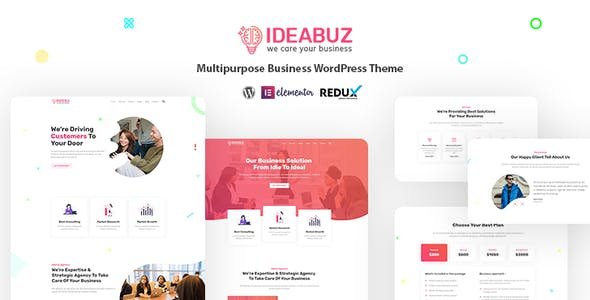 Ideabuz | Multipurpose Business WordPress Theme nulled theme download