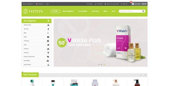 Fastest - Shopify minimal theme, Mega menu, GTMetrix 90/100, Cross-sells - Increase conversion rate