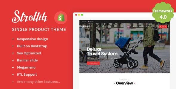 Ap Strollik - Flexible Single Product E-commerce Shopify Theme - Fashion Shopify
