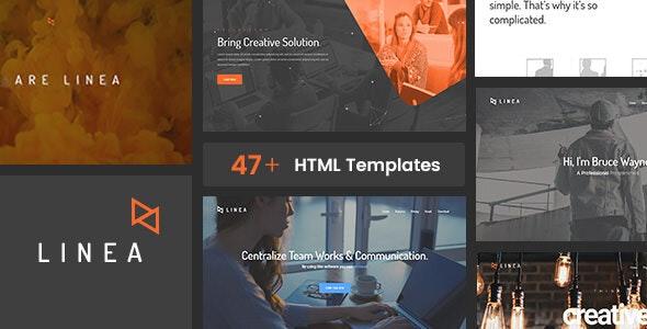 Linea - Portfolio, Creative, Agency and Multipurpose Website Template - Portfolio Creative