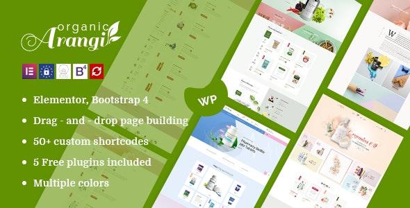 Arangi - Organic WooCommerce Theme - WooCommerce eCommerce