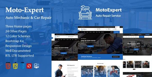 Moto Expert || Auto Mechanic & Car Repair HTML-5 Template + RTL Ready