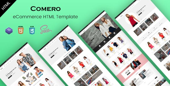 Comero - eCommerce HTML Template nulled theme download