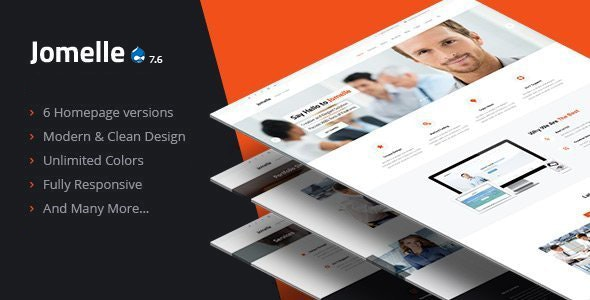 Jomelle - Multipurpose Business Drupal 7.6 Theme - Business Corporate