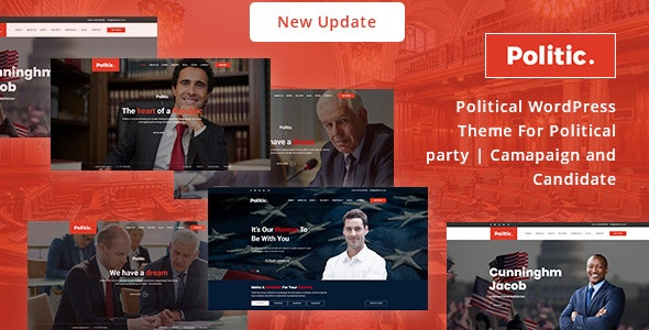 Politic - Political WordPress Theme - Political Nonprofit