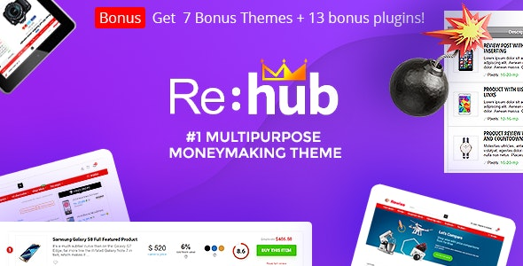 REHub - Price Comparison, Multi Vendor Marketplace, Affiliate