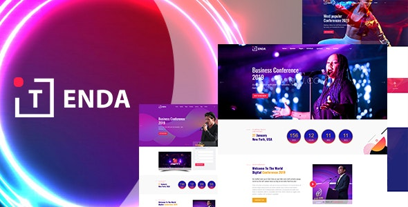 Tenda - Event And Conference HTML5 Template - Events Entertainment