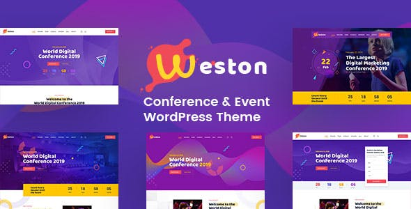 Weston - Conference & Event WordPress Theme nulled theme download