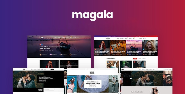 Magala - Magazine & Blog HTML 5 Template - Miscellaneous Site Templates