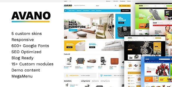 Avano - Premium React Ecommerce Template nulled theme download