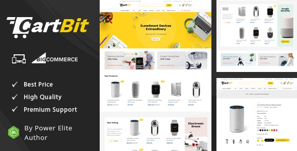CartBit - Multipurpose Stencil BigCommerce Theme - BigCommerce eCommerce