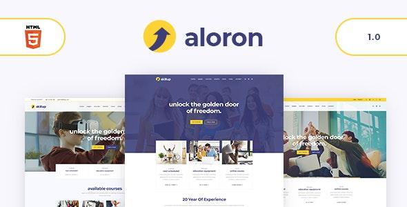 Aloron - Education HTML5 Template - Business Corporate