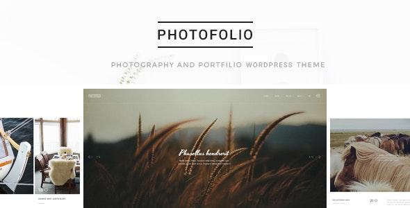 Photofolio - Photography & Portfolio WordPress Theme - Portfolio Creative