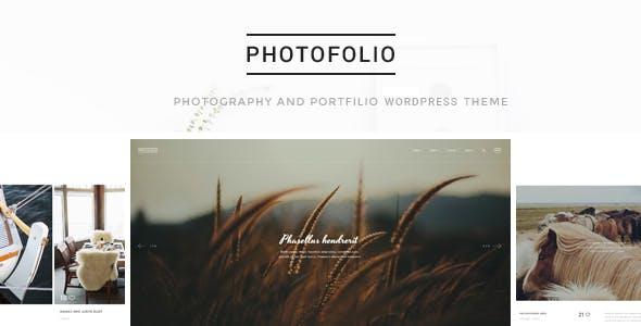 Photofolio - Photography & Portfolio WordPress Theme