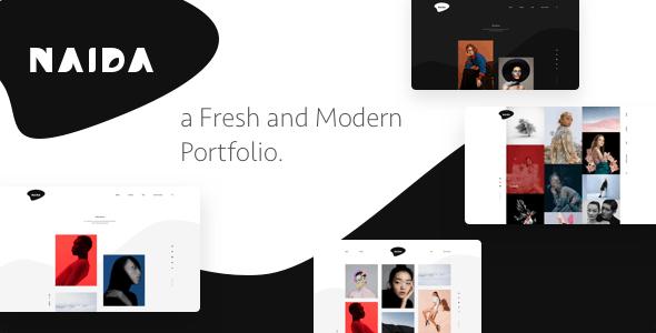 Naida | Showcase Portfolio WordPress Theme