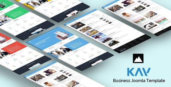 Kay - Responsive Business Joomla Template - Business Corporate